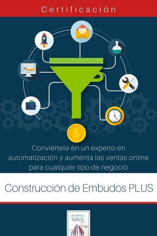 Certificación en Construcción de Embudos de Marketing